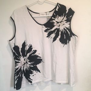 Cute B&W Summer Top